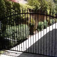 Wrought Iron Driveway gate, Daly City