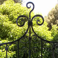 Danville, Ornamental Iron