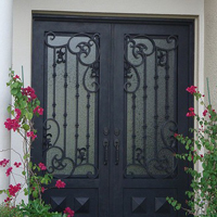 Benicia, Iron Doors