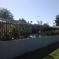 Wrought Iron Fence, Vacaville